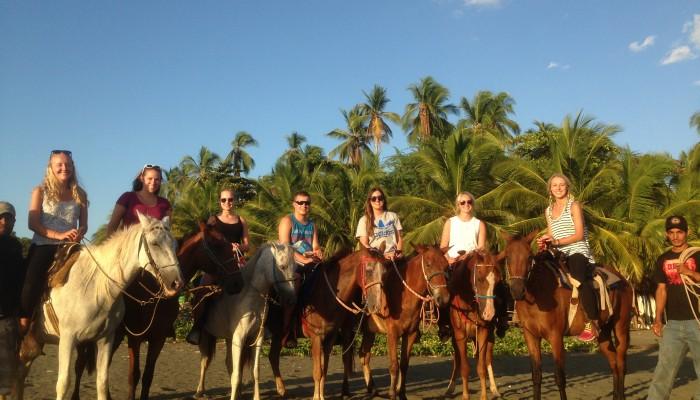 horse back riding in Santa Catalina
